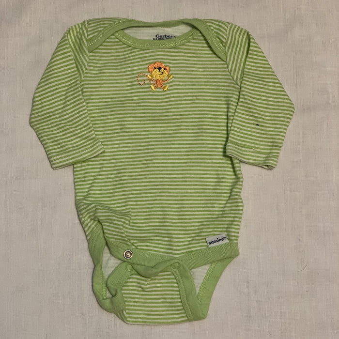 Gerber stripped onesie