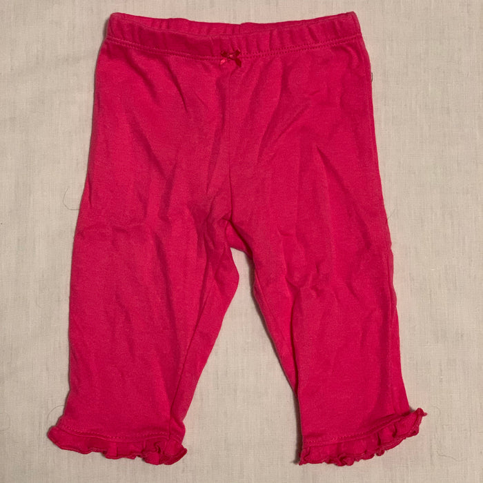 Carters pink leggings Size 6M