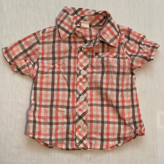 Old navy dress shirt Size 3-6M