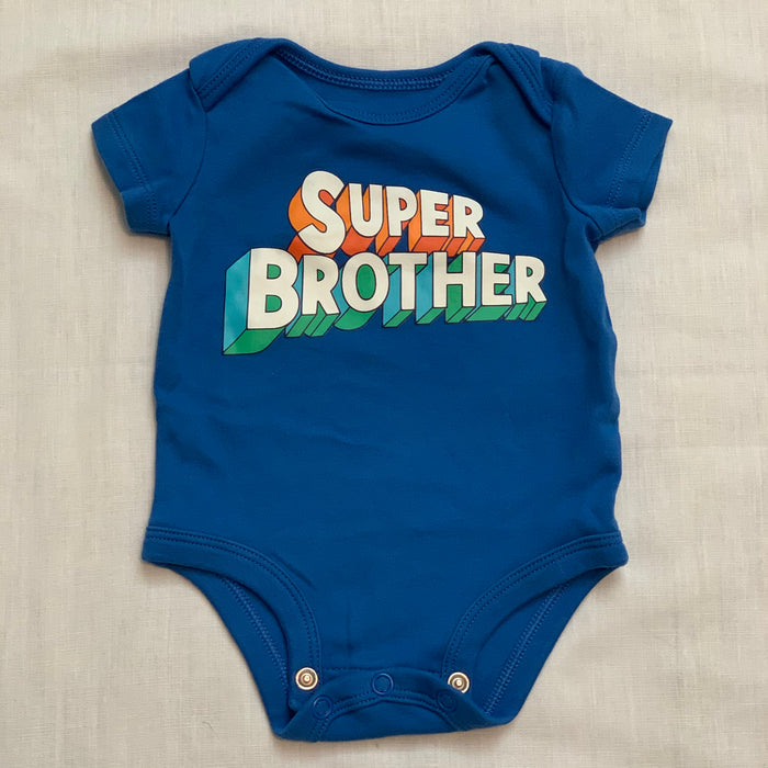 Carters super brother onesie size 0-3M