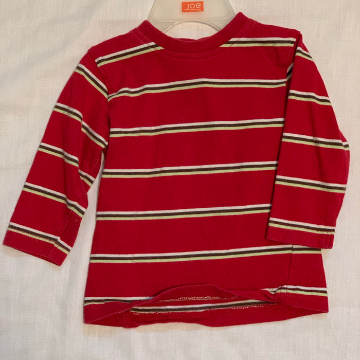 George striped long sleeve Size 6M