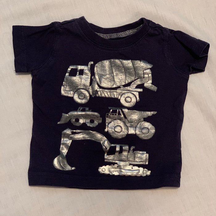 Carters navy blue tee size 3M