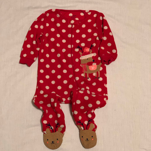 Carters fleece xmas pjs