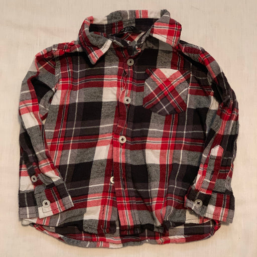 George soft plaid shirt