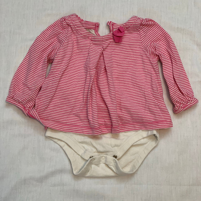 Baby gap built in onesie pink size 6-12M