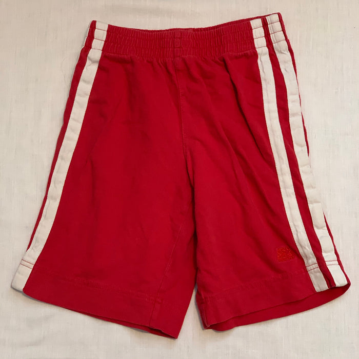 Soft cotton red shorts