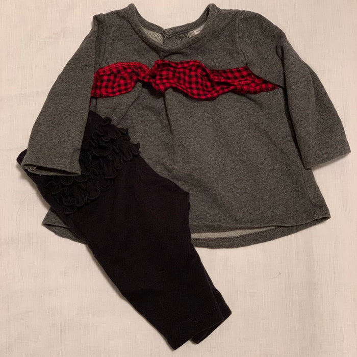 Carters leggings and shirt Size 3M