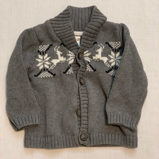 George knitted sweater
