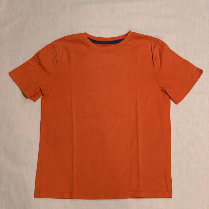 Athletic works plain orange tee Size 8