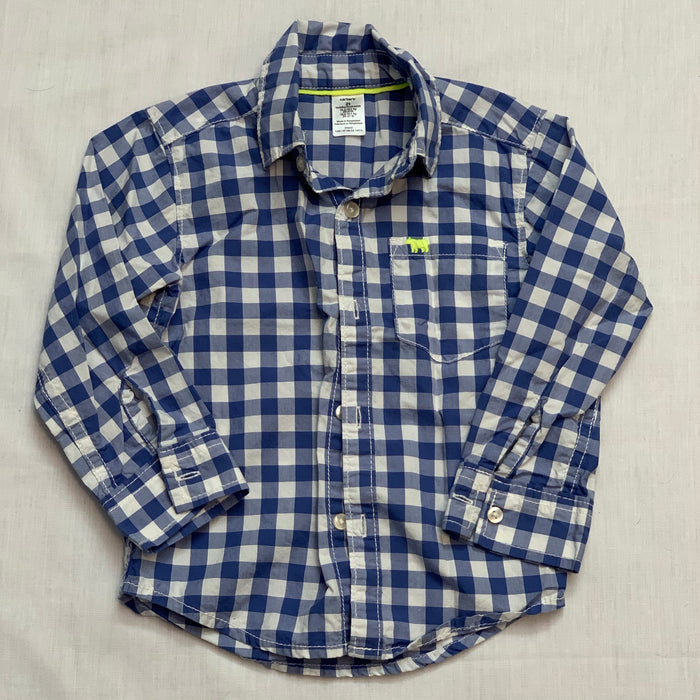 Carters checkered shirt Size 2T