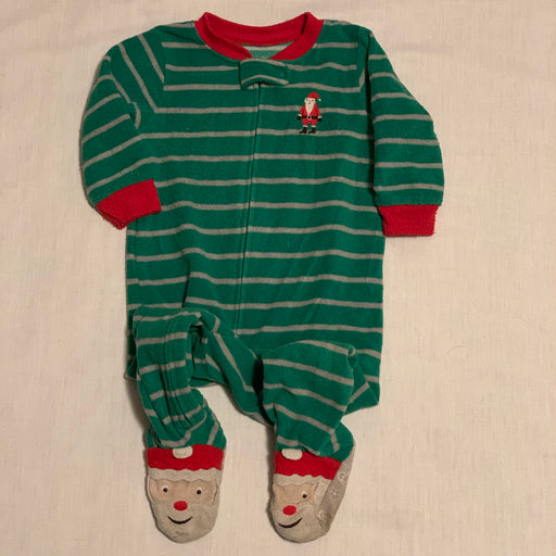 Carters footed pjs