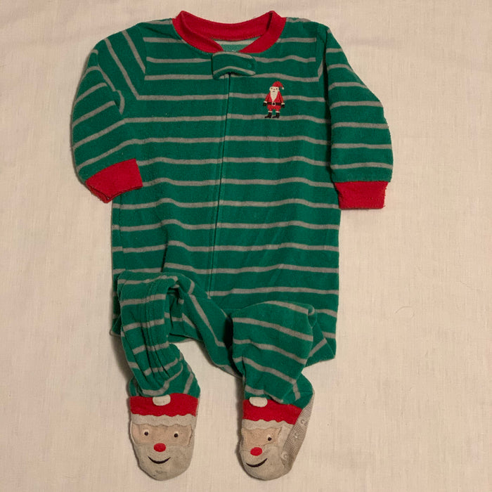 Carters footed pjs Size 12M