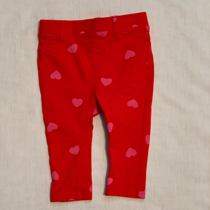 Joe fresh red pink hearts Size 6-12M