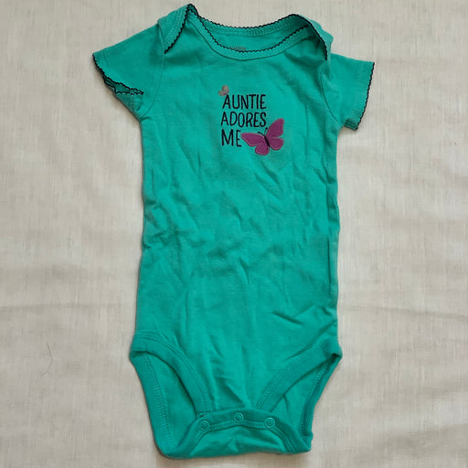 Carters teal onesie