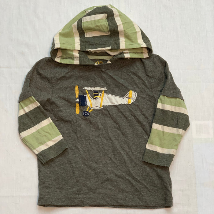 Joe fresh hooded shirt Size 2T