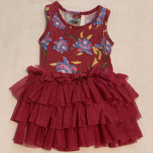 Matilda Jane maroon dress leggings