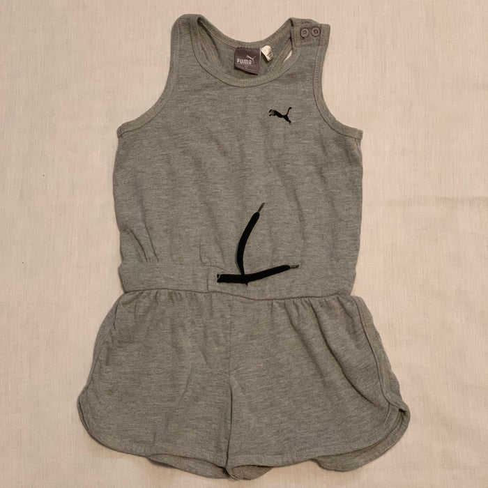 Puma romper grey tie around waist Size 5T