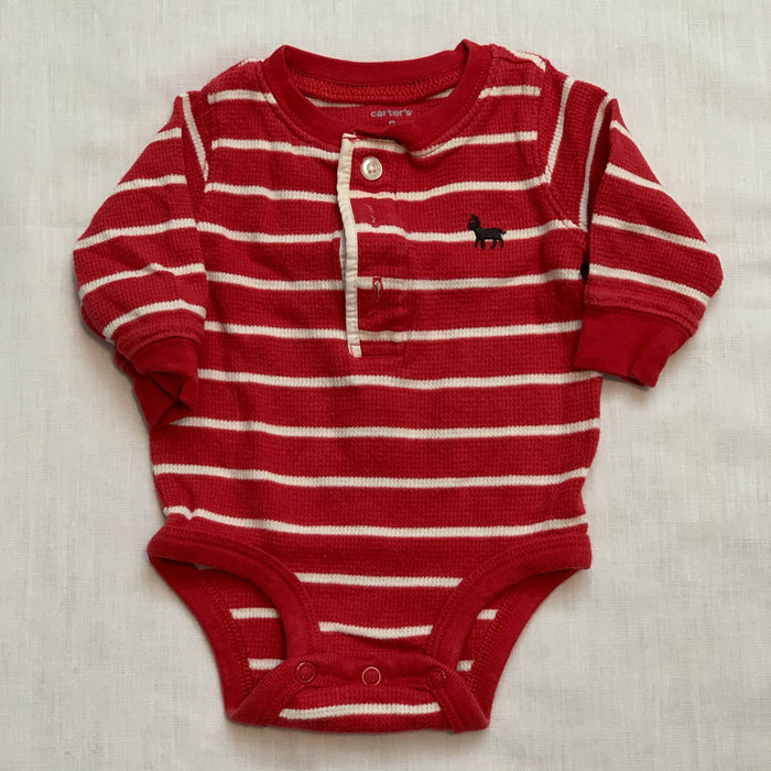 Carters waffle onesie size 3M