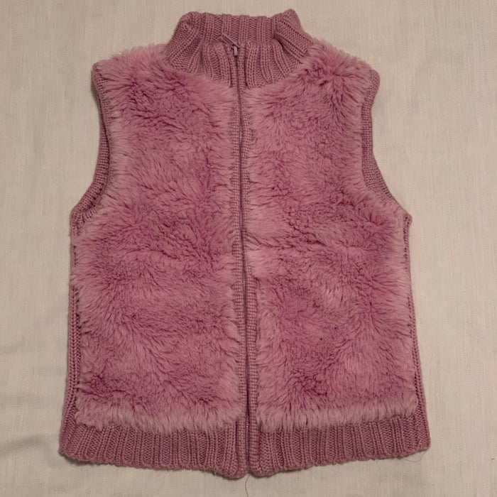 Cherokee knitted fleece vest Size 6Y