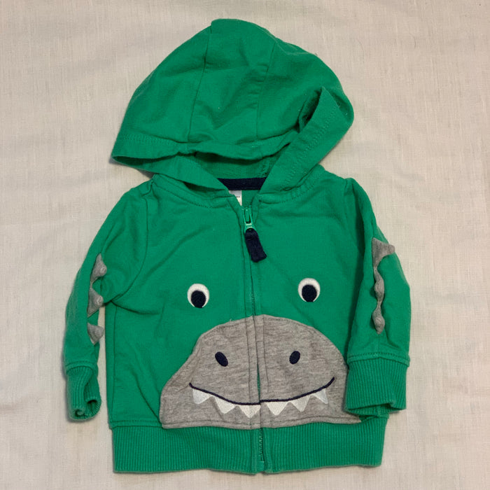 Carters sweatshirt spikes on arms size 0-3M (NB)