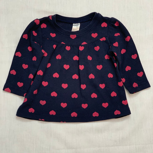 George heart shirt navy