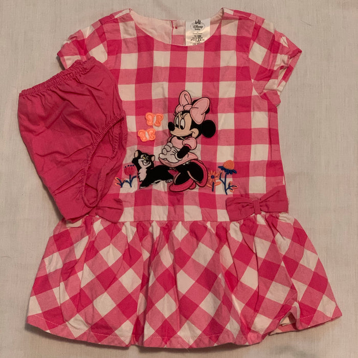 Disney Minnie dress with shorts Size 12-18M