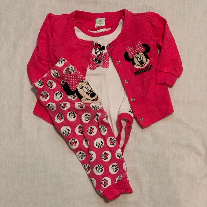 Disney Minnie 3 piece Size 9M