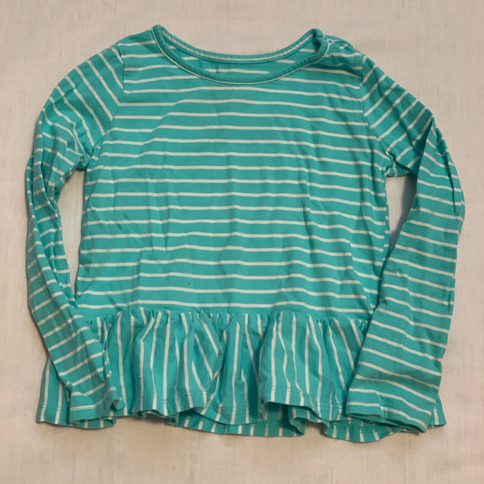Children's place teal striped Size 3T