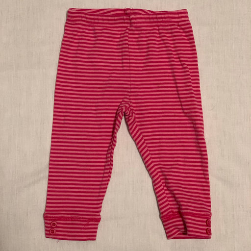 Cherokee pink stripped leggings