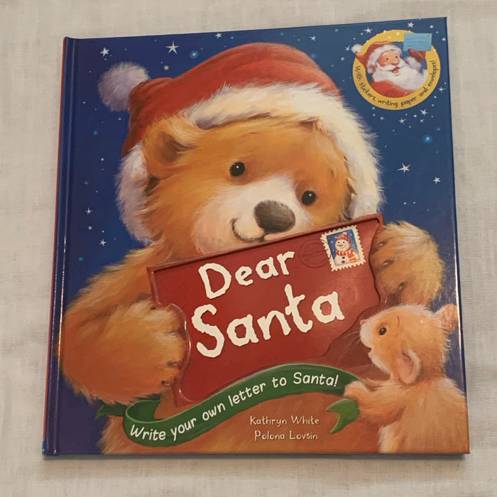 Xmas letter book not used