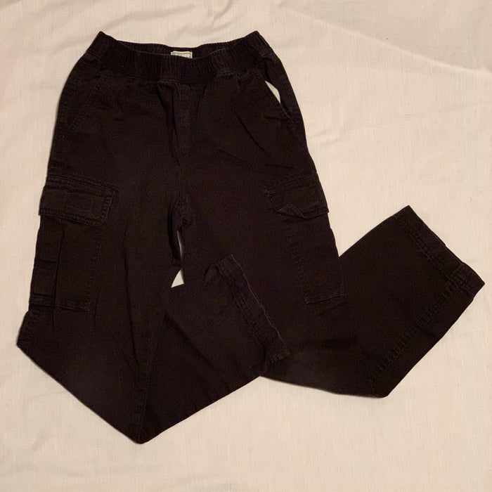 Childrens place cargo slim black Size 10 slim