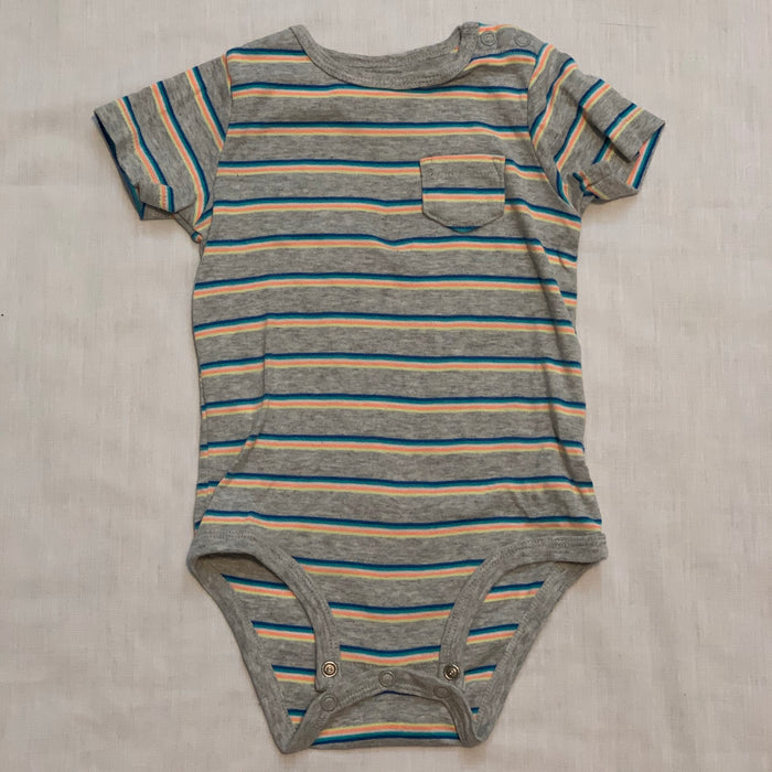 Carters striped onesie size 18M