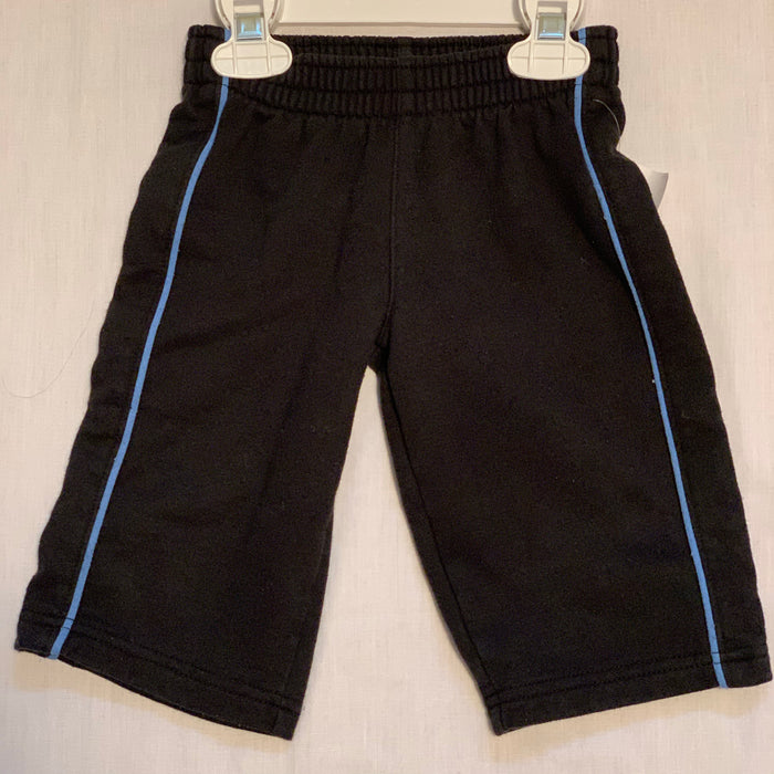 Black with blue strip sweats size 12M