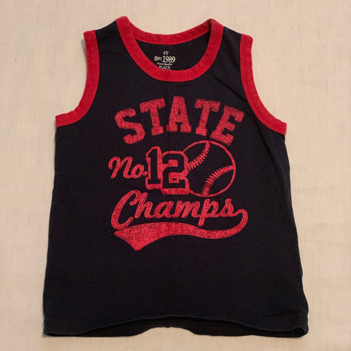 Children's place navy blue tank
