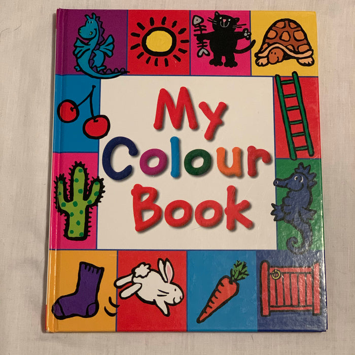 All about colours hard cover