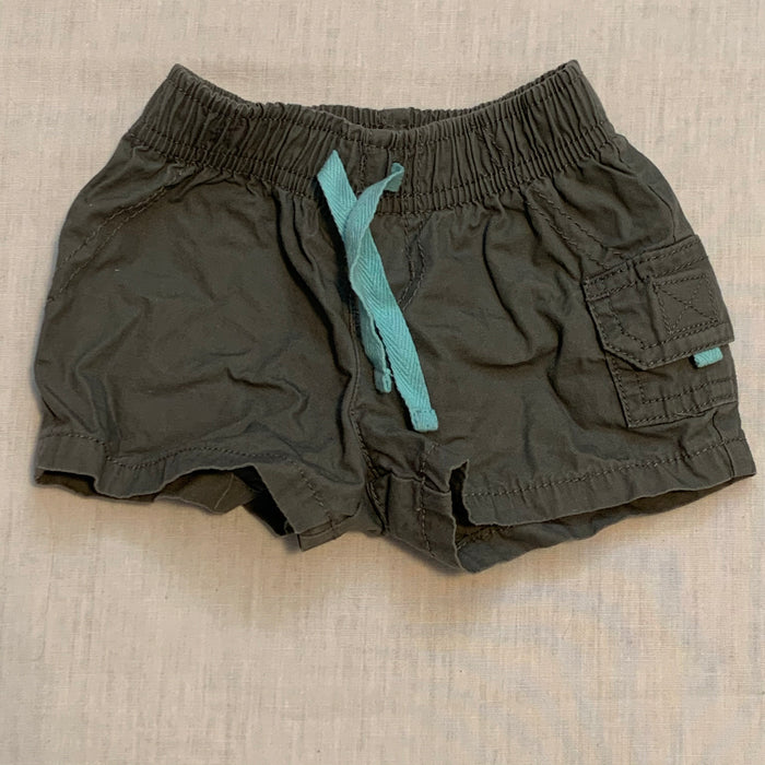 Carters green shorts size 3M