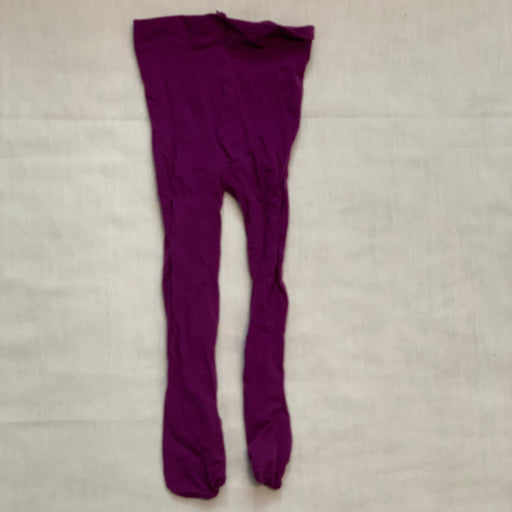 Purple nylon tights