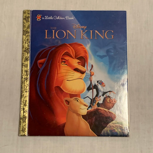 Little golden book Lion King