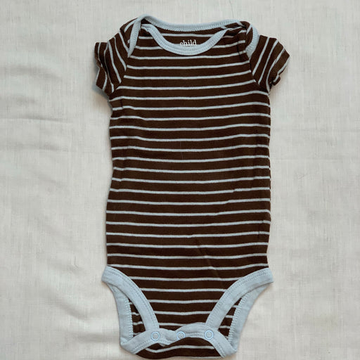 Carters brown blue stripped