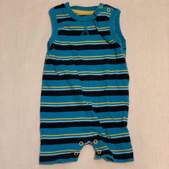 George tank romper striped Size 3M