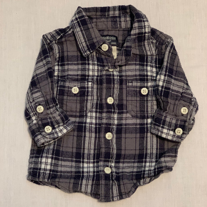 Osh kosh flannel shirt