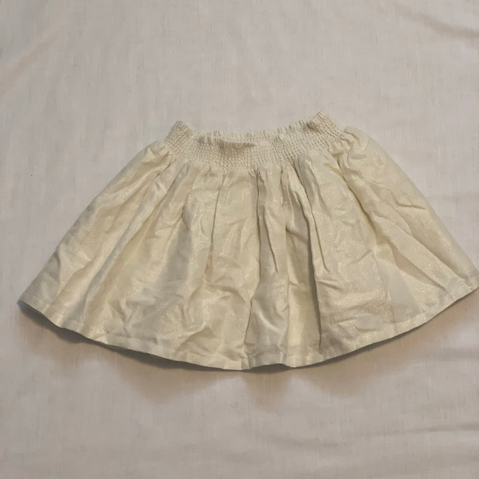 Carters cream coloured skirt Size 6