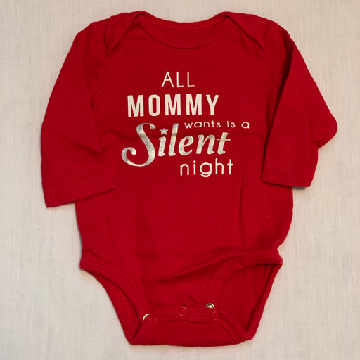 Carters red night onesie
