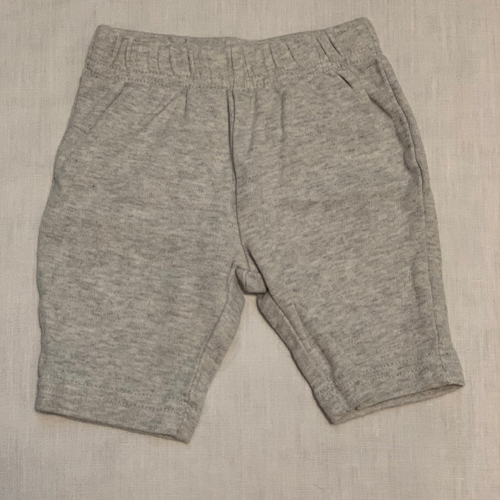 Carters light grey sweats Size0-3M