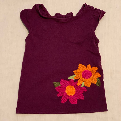 Gymboree maroon tank fun back