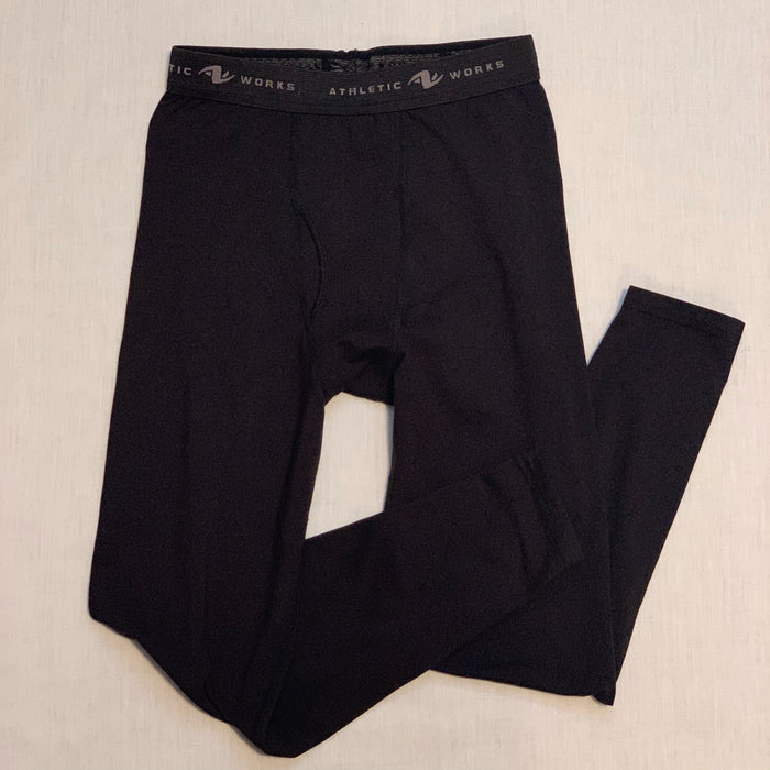Athletic works active material black size 10