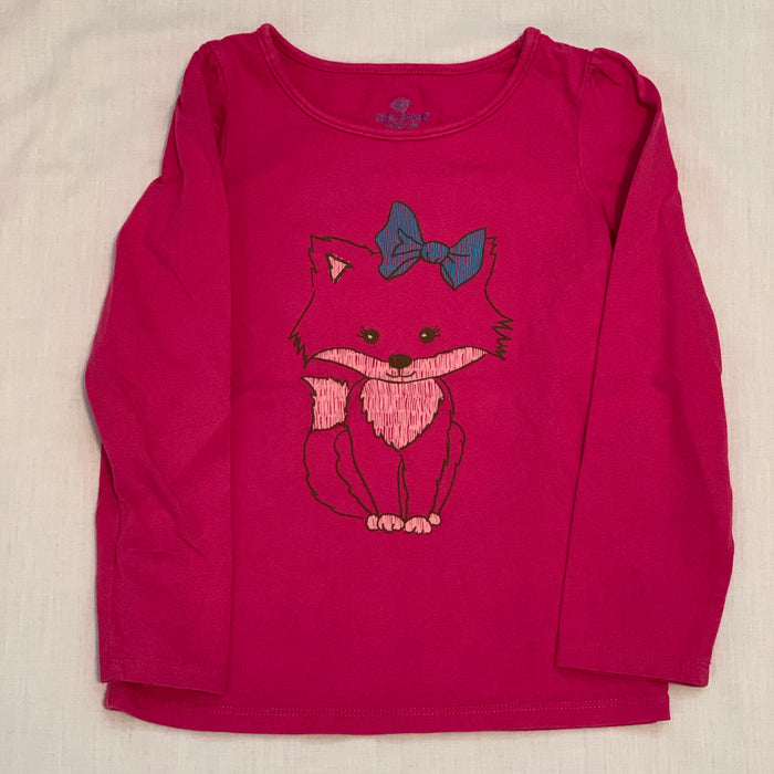 Okie dokie fox long sleeve Size 4T