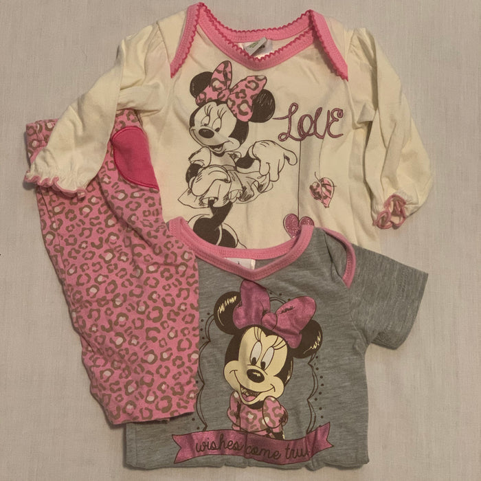 Disney Minnie 3 piece 3M