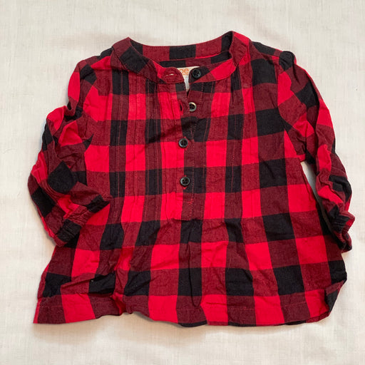 Joe fresh plaid long sleeve