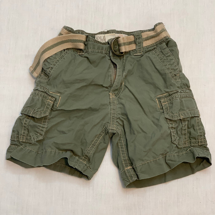 Old navy shorts belt attached Size 18-24M